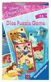 Disney Princezny, hra s puzzle a kostkou Hry;Cestovní hry - Ravensburger