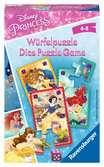 Disney Princess Würfelpuzzle Spiele;Mitbringspiele - Ravensburger