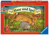 Hase und Igel Spiele;Familienspiele - Ravensburger