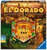 The Quest for El Dorado The Golden Temples Games;Family Games - Ravensburger