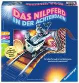 Das Nilpferd in der Achterbahn Spiele;Familienspiele - Ravensburger