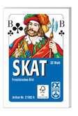 Klassisches Skatspiel, Französisches Bild, 32 Karten in der Faltschachtel Spiele;Kartenspiele - Ravensburger