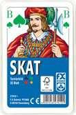 Klassisches Skatspiel, Offizielle Turnierkarte des DSkV, 32 Karten in Klarsicht-Box Spiele;Kartenspiele - Ravensburger
