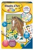 Numéro d art - mini - Cheval et stickers Loisirs créatifs;Peinture - Numéro d Art - Ravensburger