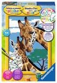 Girafes Loisirs créatifs;Peinture - Numéro d art - Ravensburger