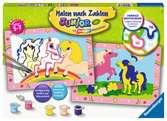 Süße Ponys Malen und Basteln;Malen nach Zahlen - Ravensburger