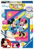 Mickey & Minnie Malen und Basteln;Malen nach Zahlen - Ravensburger