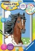 Portrait de cheval Loisirs créatifs;Peinture - Numéro d'Art - Ravensburger