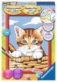 Kat in mand Hobby;Schilderen op nummer - Ravensburger