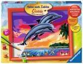 Wereld van de dolfijnen Hobby;Schilderen op nummer - Ravensburger