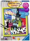 Cool Parijs Hobby;Schilderen op nummer - Ravensburger