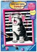Singing Cat Malen und Basteln;Malen nach Zahlen - Ravensburger