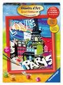 Numéro d art - grand - Love from Paris Loisirs créatifs;Peinture - Numéro d'Art - Ravensburger