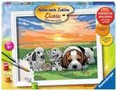Jonge dieren parade Hobby;Schilderen op nummer - Ravensburger