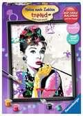 Audrey Hepburn Hobby;Schilderen op nummer - Ravensburger