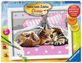 Adorables chatons Loisirs créatifs;Peinture - Numéro d art - Ravensburger