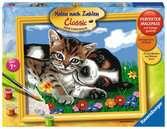 Tierfreundschaft Malen und Basteln;Malen nach Zahlen - Ravensburger