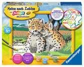 Kleine Leoparden Malen und Basteln;Malen nach Zahlen - Ravensburger