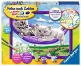 Kätzchen in der Hängematte Malen und Basteln;Malen nach Zahlen - Ravensburger
