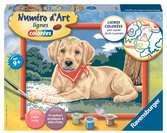 Labrador au bandana Loisirs créatifs;Peinture - Numéro d'Art - Ravensburger