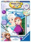 Elsa et Anna / La Reine des Neiges, Disney Loisirs créatifs;Peinture - Numéro d'Art - Ravensburger