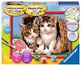 Katjes in mand Hobby;Schilderen op nummer - Ravensburger