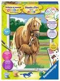 Amour de chevaux Loisirs créatifs;Peinture - Numéro d art - Ravensburger