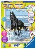 Paard in de branding Hobby;Schilderen op nummer - Ravensburger