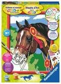 Paard bij een concours Hobby;Schilderen op nummer - Ravensburger