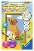 Lieve Puppy Hobby;Schilderen op nummer - Ravensburger