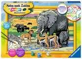 Tiere in Afrika Malen und Basteln;Malen nach Zahlen - Ravensburger