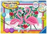 Liebenswerte Flamingos Malen und Basteln;Malen nach Zahlen - Ravensburger