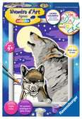 Numéro d art - petit - Cri du loup Loisirs créatifs;Peinture - Numéro d'Art - Ravensburger