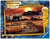 Afrikaanse impressie Hobby;Schilderen op nummer - Ravensburger
