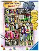 Magische boekenkast Hobby;Schilderen op nummer - Ravensburger