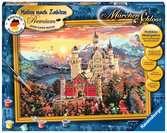 Märchenschloss Malen und Basteln;Malen nach Zahlen - Ravensburger
