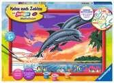 Welt der Delfine Malen und Basteln;Malen nach Zahlen - Ravensburger