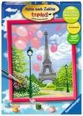 Frühling in Paris Malen und Basteln;Malen nach Zahlen - Ravensburger