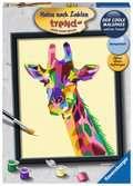 Bunte Giraffe Malen und Basteln;Malen nach Zahlen - Ravensburger