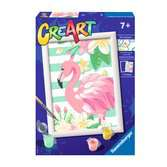 Ravensburger CreArt Paint by Numbers - Think Pink Flamingo Arts & Crafts;CreArt - Ravensburger