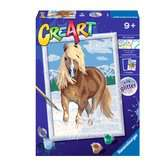 Ravensburger CreArt Paint by Numbers - The Royal Horse Arts & Crafts;CreArt - Ravensburger