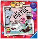 Coffee Hobby;Schilderen op nummer - Ravensburger