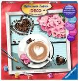 Liefde voor koffie Hobby;Schilderen op nummer - Ravensburger