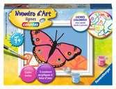 Beau papillon Loisirs créatifs;Peinture - Numéro d'Art - Ravensburger