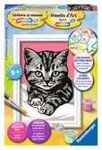 Liefdevol katje Hobby;Schilderen op nummer - Ravensburger