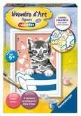 Numéro d art - mini - Petit chat dans un bol Loisirs créatifs;Peinture - Numéro d'Art - Ravensburger