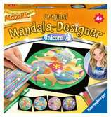 Metallic Unicorn Artístico;Junior Mandala-Designer® - Ravensburger