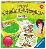 Mandala - Horses Loisirs créatifs;Dessin - Ravensburger
