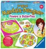 Mandala  - midi - Flowers & butterflies Loisirs créatifs;Dessin - Ravensburger