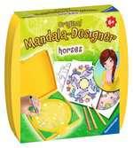 Mini Mandala-Designer Horses Malen und Basteln;Zeichen- und Malsets - Ravensburger